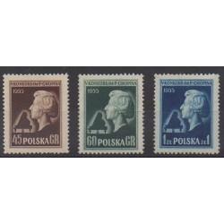 Poland - 1954 - Nb 782/784 - Music