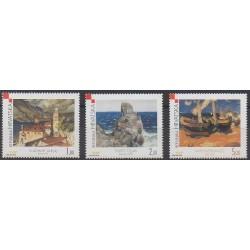 Croatie - 2000 - No 527/529 - Peinture