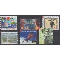 Croatie - 2001 - No 531/536