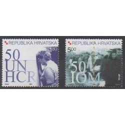 Croatie - 2001 - No 545/546 - Nations unies