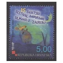 Croatia - 2002 - Nb 583 - Cinema