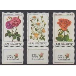 Israel - 1981 - Nb 806/808 - Flowers