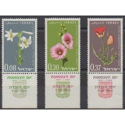 Israel - 1963 - Nb 234/236 - Flowers