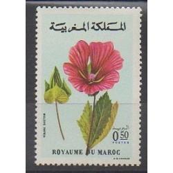 Morocco - 1977 - Nb 787 - Flowers