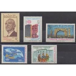 Turkey - 1984 - Nb 2453/2457