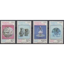 Turkey - 1985 - Nb 2464/2467 - Art