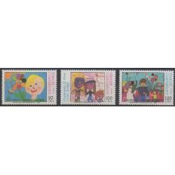 Turkey - 1986 - Nb 2491/2493 - Children's drawings