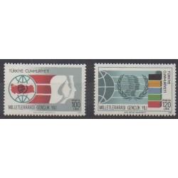 Turkey - 1985 - Nb 2474/2475
