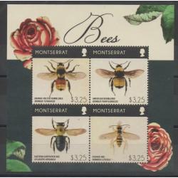 Montserrat - 2015- No 1572/1575 - Insectes