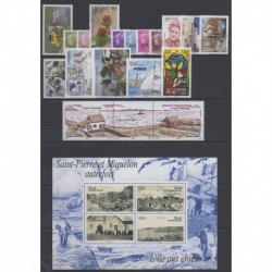Saint-Pierre et Miquelon - Complete year - 2011 - Nb 991/1023 - BF16/BF19