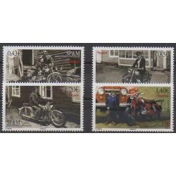 Saint-Pierre and Miquelon - 2017 - Nb 1185/1188 - Motorcycles