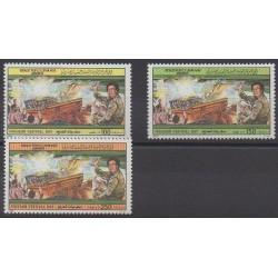 Libya - 1988 - Nb 1768/1770 - Various Historics Themes