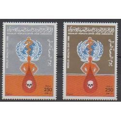 Libya - 1986 - Nb 1643/1646 - Health or Red cross