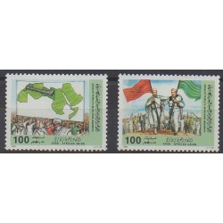 Libya - 1984 - Nb 1437/1438 - Various Historics Themes