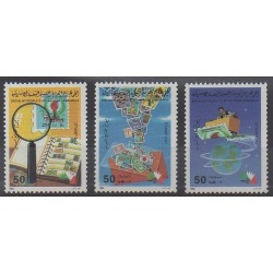 Libya - 1985 - Nb 1614/1616 - Philately