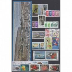 Saint-Pierre et Miquelon - Complete year - 2012 - Nb 1024/1057