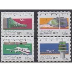 Macao - 1995 - No 786/789 - Aviation
