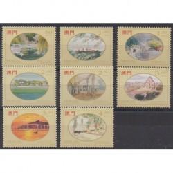 Macao - 1995 - Nb 749/756 - Paintings