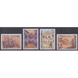 Macao - 1996 - Nb 807/810 - Paintings