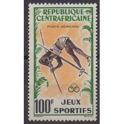 Central African Republic - 1962 - Nb PA6 - Various sports
