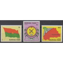 Burkina Faso - 1985 - No 640/642