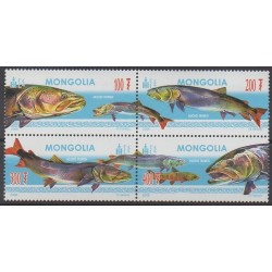 Mongolia - 2006 - Nb 2759/2762 - Sea life
