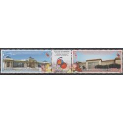 Mongolia - 2009 - Nb 2860/2861 - Monuments