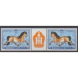 Mongolia - 2013 - Nb 2968/2969 - Horoscope