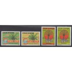 Centrafricaine (République) - 1986 - No 731/734 - Arbres