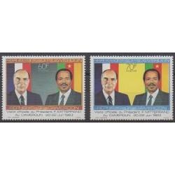 Cameroon - 1985 - Nb 759/760 - Various Historics Themes