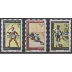 Central African Republic - 1969 - Nb 115/117 - Various sports