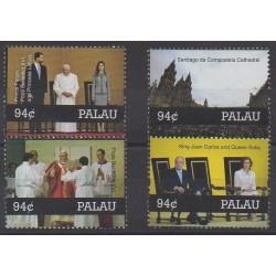 Palau - 2010 - Nb 2578/2581 - Pope