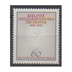 Allemagne occidentale (RFA - Berlin) - 1982 - No 627 - Musique