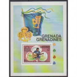 Grenadines - 1976 - Nb BF19 - Scouts - Music
