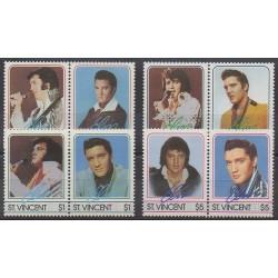 Saint Vincent - 1985 - Nb 870/877 - Music