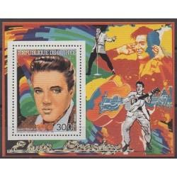 Guinée - 1986 - BF du n°814 - Musique