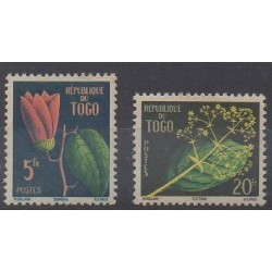 Togo - 1959 - Nb 276/277 - Flowers