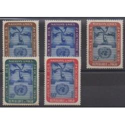 Togo - 1959 - Nb 295/299 - United Nations