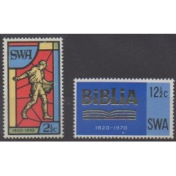 South-West Africa - 1970 - Nb 302/303 - Religion