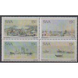 Sud-Ouest africain - 1975 - No 354/357 - Peinture