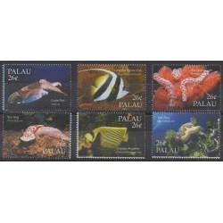 Palau - 2004 - Nb 2051/2056 - Sea life