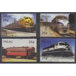 Palau - 2004 - Nb 2063/2066 - Trains