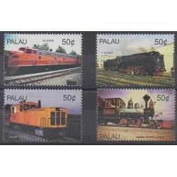 Palau - 2004 - Nb 2088/2091 - Trains