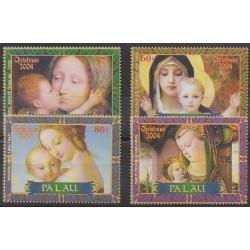 Palau - 2004 - Nb 2100/2103 - Christmas - Paintings