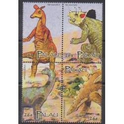 Palau - 2004 - Nb 2111A/2111D - Prehistoric animals