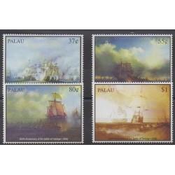 Palau - 2005 - Nb 2132/2135 - Military history - Boats