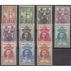 Somali Coast - 1939 - Nb 177/187
