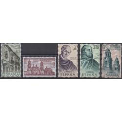 Spain - 1970 - Nb 1651/1655 - Various Historics Themes