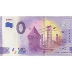 Euro banknote memory - 29 - Brest - 2021-1 - Anniversary