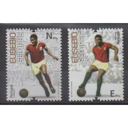 Portugal - 2014 - Nb 3908/3909 - Football